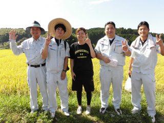 稲刈り交流会④